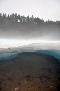 Buluus icing near Yakutsk (Photo: M. Schaepman, August 2013).