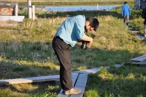 Bingxi Li - what did I photograph again?? (Photo: G. Schaepman-Strub, July 2013).