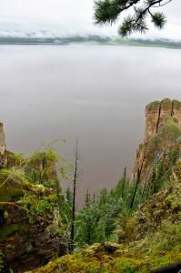Lena pillars view from top (Photo: M. Schaepman).