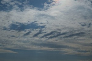 We get a lot of different clouds here. Photo I. Juszak, August 2013