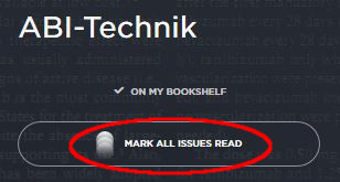 Mark All Issues Read