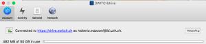 SWITCHdrive mit 50 GB Speicherplatz