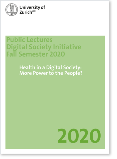 RV «Health in a Digital Society: More Power to the People?» (Cover Flyer)