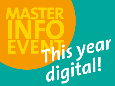 Master Info Event – This year digital!