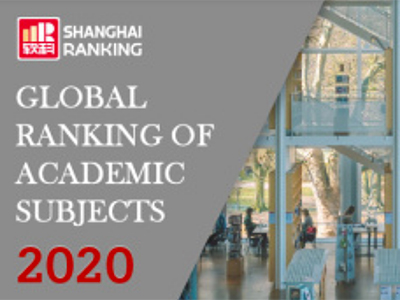 Global Ranking of Academic Subjects 2020