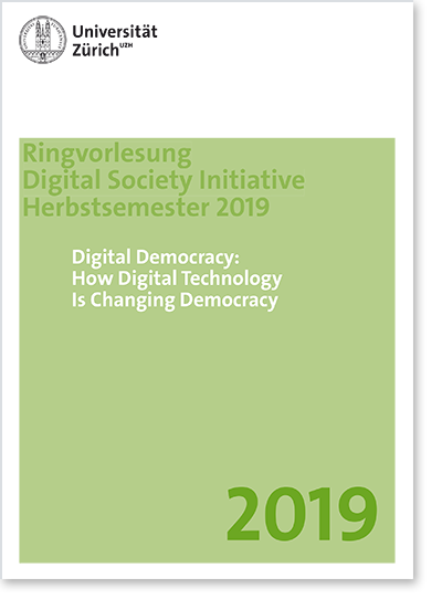 Digital Democracy: How Digital Technology Is Changing Democracy (Cover Flyer)