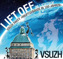 Party �Lift Off im Lichthof�