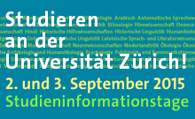 Studieninformationstage 2015