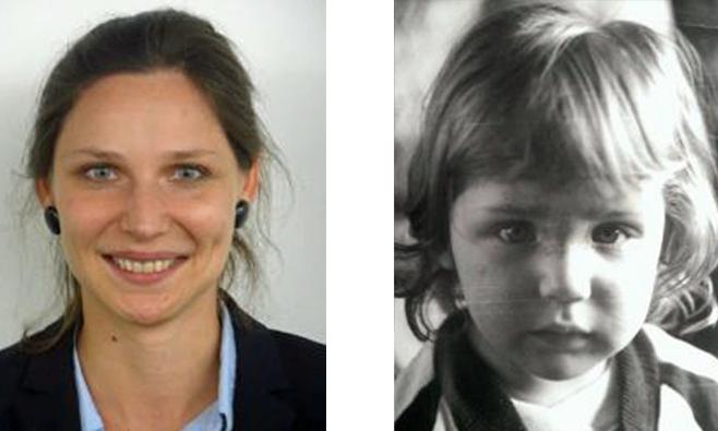 Post-Doktorandin Aleksandra Eberhard-Moscicka